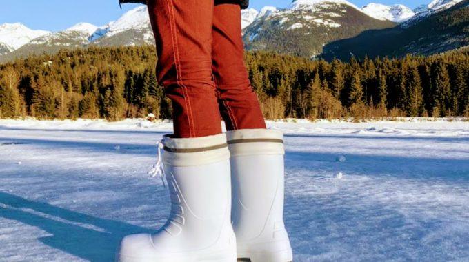 ハイパーVスタッドレスの氷上検証 滑らない長靴 防寒 超軽量設計